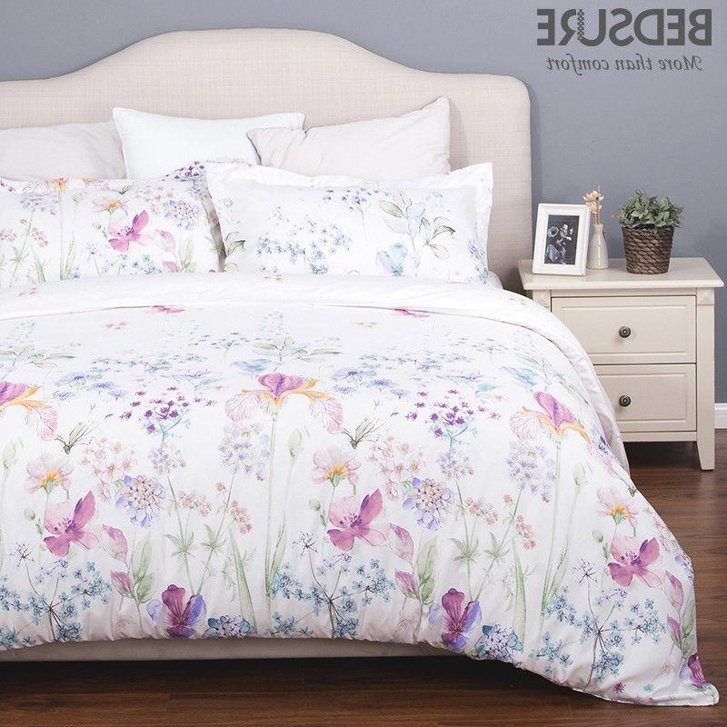 printed floral duvet cover set soft duvet