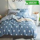 Queen Bedding Sets for Kids Adults Tree Plant Duvet Cover Co