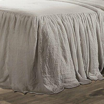 Ruffle Skirt Bedspread by Lush Decor