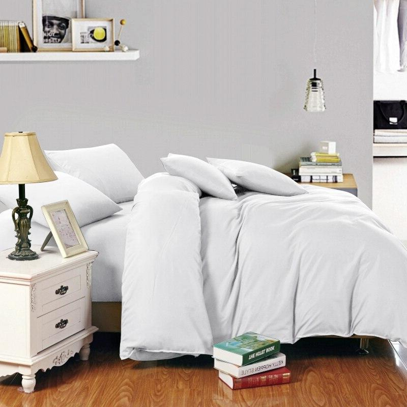 Russia Spain <font><b>Bedding</b></font> Europe Double Single Luxury Set Set White Black Gray
