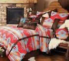 Carstens Rustic Western Red Branch 5 Piece Comforter Bedding