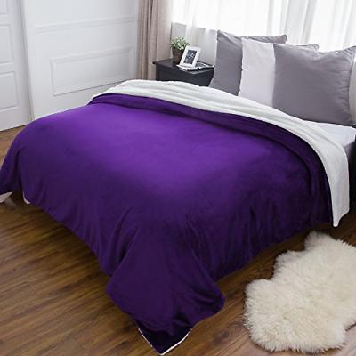 Bedsure Purple Size Bedding for