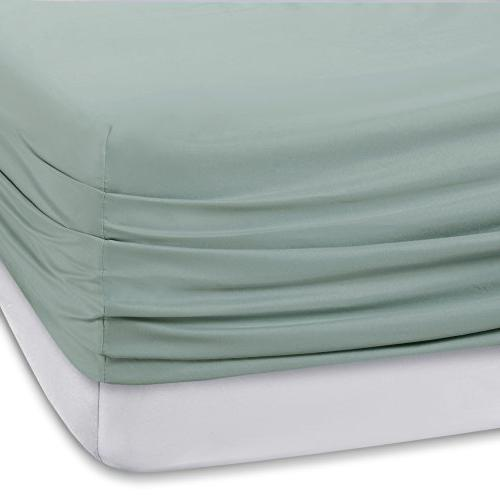Set Wicking Queen Blue Flat Fitted Pillow Cases