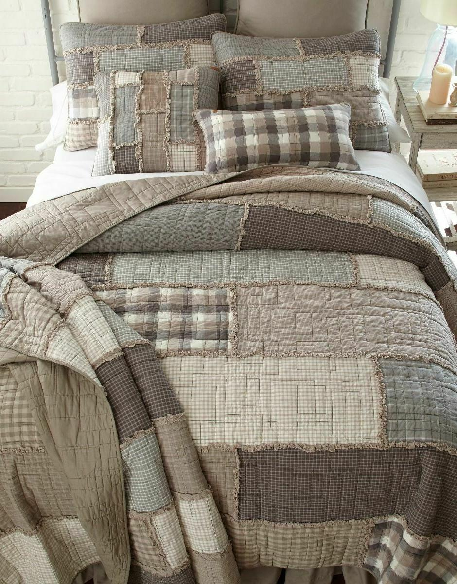 SMOKY COBBLESTONE Quilts & Accessories - Farmhouse Country B