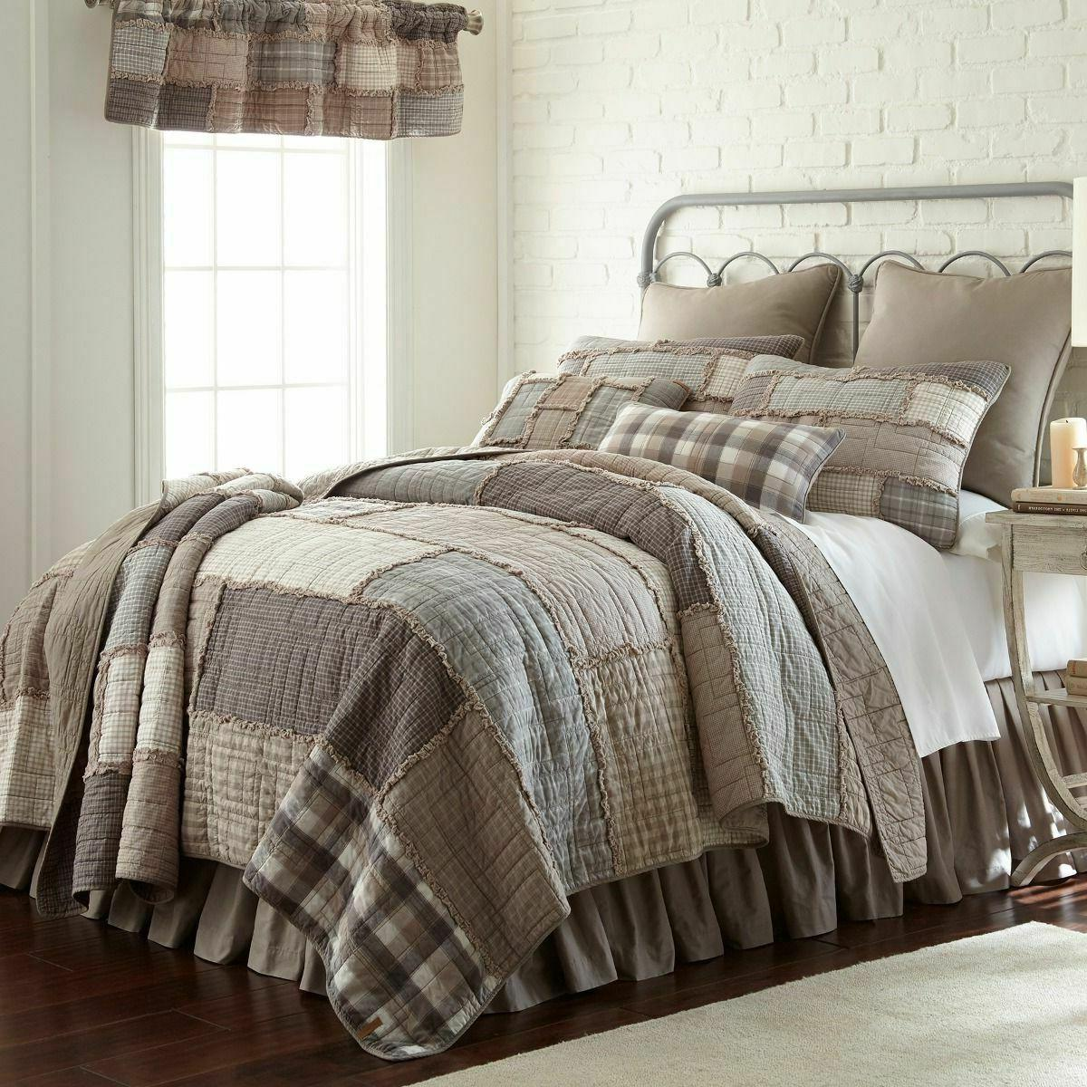 SMOKY Quilts & Accessories Farmhouse Country Bedding