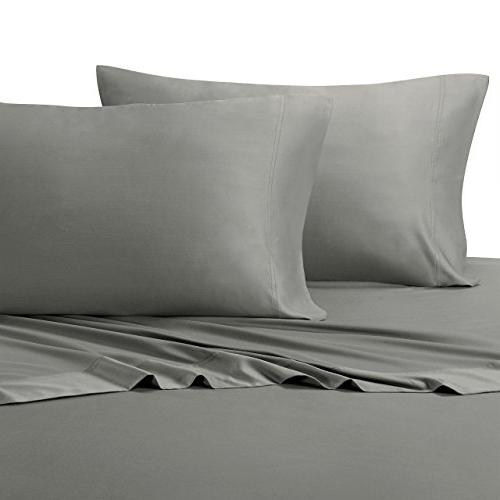 solid gray olympic queen sheets