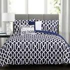 Lush Decor Special Edition Edward Trellis Queen Sz Quilt Pil