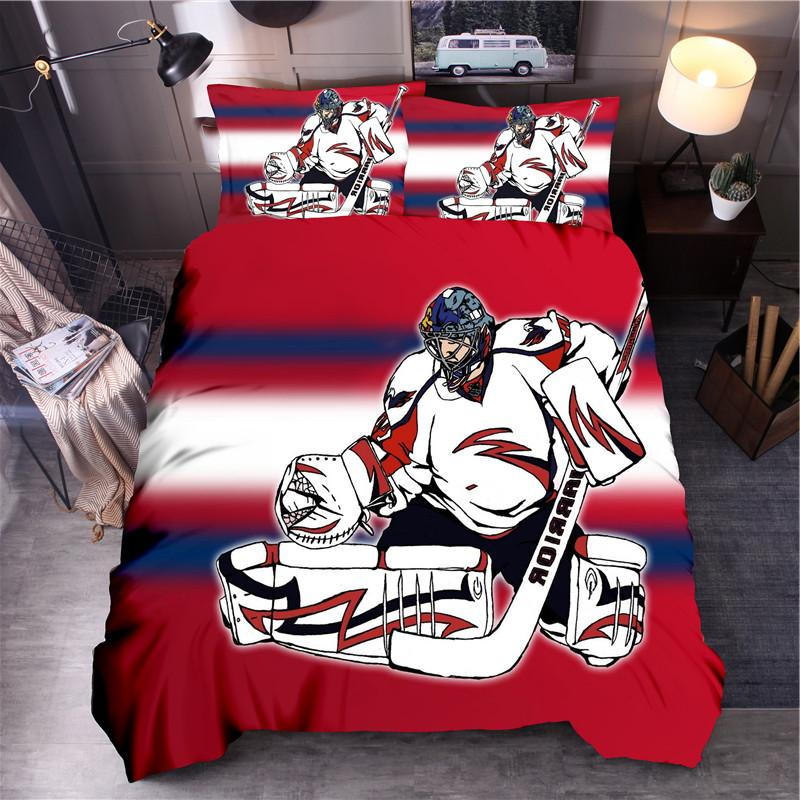 Sport Ice Set <font><b>Queen</b></font> King Cover Bed