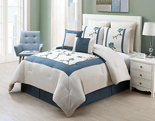 trousdale embroidered comforter set
