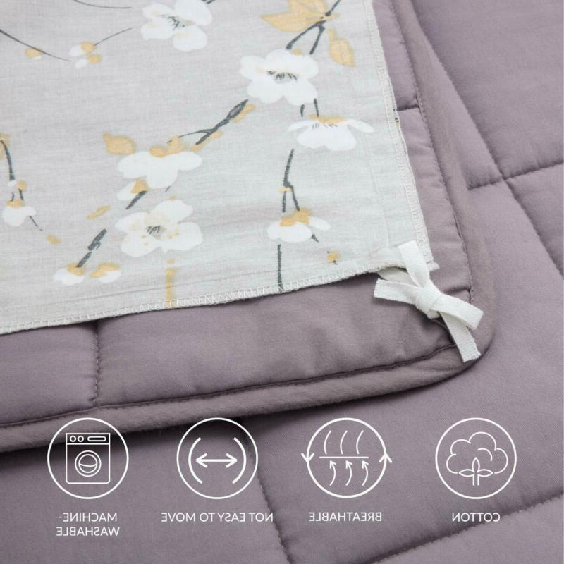 Bedsure Weighted Duvet Cover For