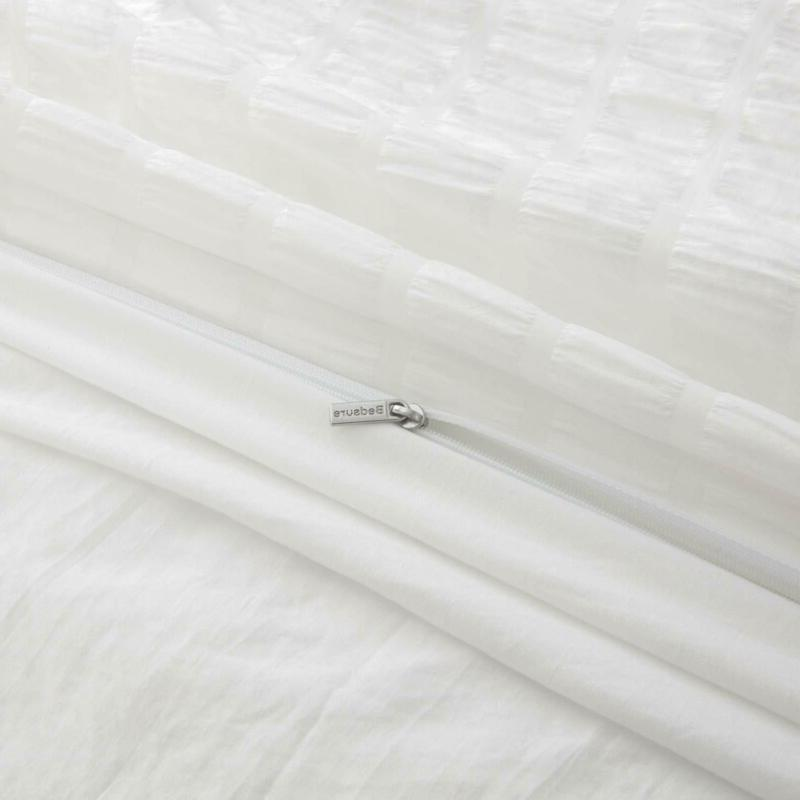 Bedsure Cover Queen Size - Stripe