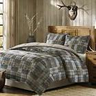 Woolrich White River Down Alternative Reversible Comforter M