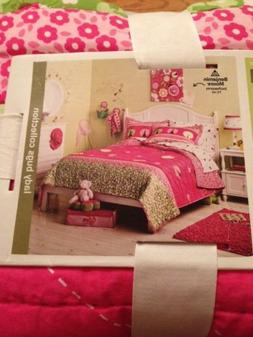 CIRCO LADY BUGS COLLECTION FULL QUEEN QUILT + SHAMS SET 3 PI