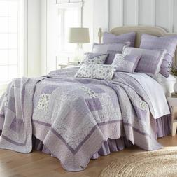 Donna Sharp Lavender Rose Quilted Country Cotton Full/Queen