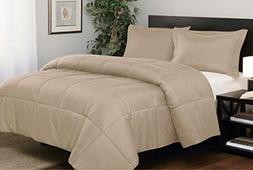 Luxury 600 Thread Counts 300 GSM Fiber Fill 1pc Comforter +