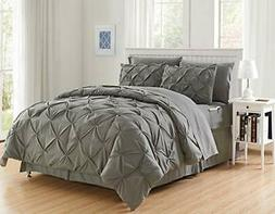 Luxury Best, Softest, Coziest 8-Piece Bed-in-a-Bag Comforter