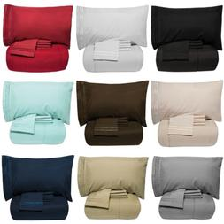 Luxury 5 Piece Bed-In-A-Bag Down Alternative Comforter & She