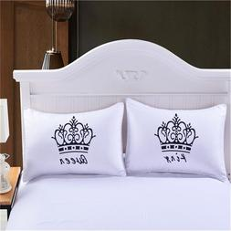 Luxury Crown King <font><b>Queen</b></font> White Decorative
