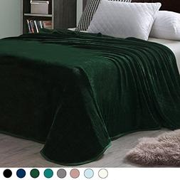 Exclusivo Mezcla Luxury Queen Size Flannel Velvet Plush Soli