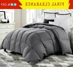 Luxury Goose Down Alternative Comforter Twin Queen King Size