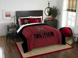 "Maryland Terrapins Bedding Full/Queen Comforter Set ""Moder"