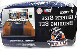 NCAA Mascot Bedding Comforter Set with Sheets, UTEP Miners