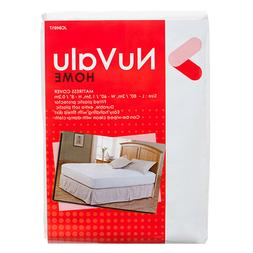 NuValu HOME Mattress Cover Plastic Bed Protector Anti Bed Bu