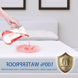 Mattress Cover Protector Waterproof Queen Size Bed Pad Hypoa