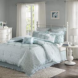 Madison Park Mindy Queen Size Bed Comforter Set Bed in A Bag