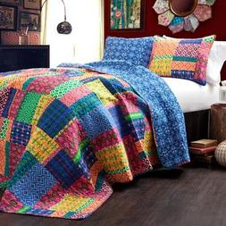 Misha 3-Piece Quilt Set by Lush Decor
