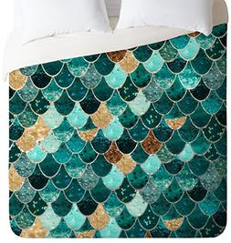 Monika Strigel Really Mermaid Duvet Cover, Queen