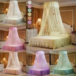 Mosquito Net Canopy Insect Bed Lace Netting Princess Bedding