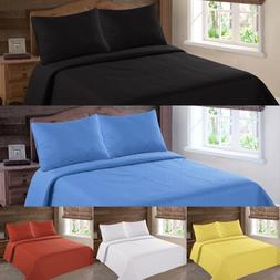 NENA BED BEDSPREAD QUILT COVERLETS SET EMBOSSED PINSONIC SOL
