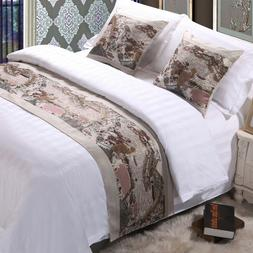 New Bed Runner Scarf Protector Slipcover Decorative Bedroom
