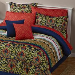 NEW!!  alcove Teagan 8pc Bed Set + 12pc Accessories Queen
