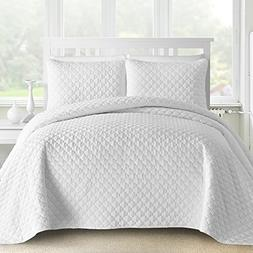Oversized and Prewashed Comfy Bedding Lantern Ogee Quilted 3
