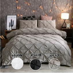 pinched pleat down alternative comforter set pillow