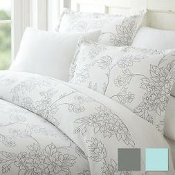Premium 3 Piece Vine Patterned Duvet Cover Set - Hotel Colle