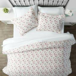 Home Collection Premium Ultra Soft 3 Piece Blossoms Print Du