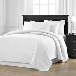 Comfy Bedding Prewashed Durable Jigsaw Quilted 3-piece Bedsp