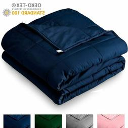 Queen Size Weighted Blanket 25 lbs 60''x80'' for Adults Heav