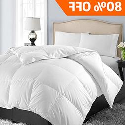 Queen/Full Soft Quilted Down Alternative Summer Cooling Comf