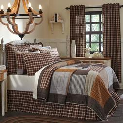 Rory Patchwork Country  FARMHOUSE QUILT Choose Size & Access