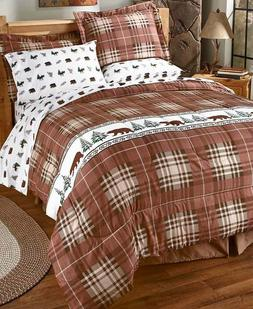 Rustic Country Lodge Cabin Bedding Sheets or Comforter Sets