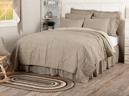 sawyer mill ticking stripe quilt choose size
