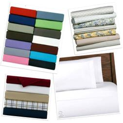 Sheet Sets Twin Full Queen King Colors Patterns Microfiber