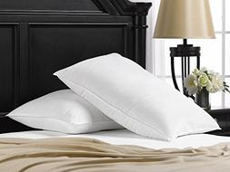Ella Jayne Home Soft Queen Size Bed Pillows- 2 Pack White Ho