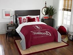 Stanford Cardinal - 3 Piece FULL / QUEEN SIZE Printed Comfor