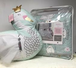 Tabitha Webb Swan Cotton Quilt Set Kids Collection Full Quee