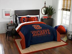 Syracuse Orange - 3 Piece FULL / QUEEN SIZE Printed Comforte